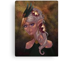 Elven Maiden Canvas Print