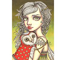 Athena and Her Royal Companion Photographic Print