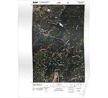 USGS Topo Map Washington State WA Cliff Ridge 20110428 TM Poster