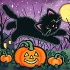 Jumping Pumpkins by Shelly  Mundel