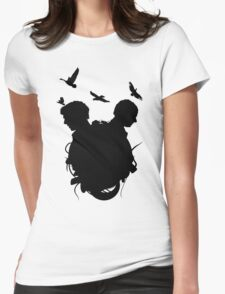 The Fall of Shadows II Womens Fitted T-Shirt