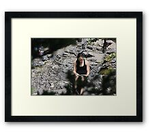 Sitting in Limbo Framed Print