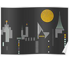 City scape Poster