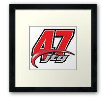 JTG 47 DAUGHERTY RACING MOTORSPORT Framed Print