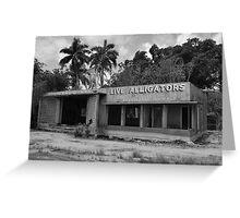 Everglades Gatorland Greeting Card