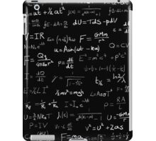 Physics - handwritten iPad Case/Skin