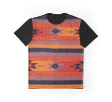 Peruvian Blanket Pattern Graphic T-Shirt