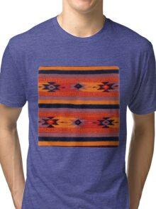 Peruvian Blanket Pattern Tri-blend T-Shirt