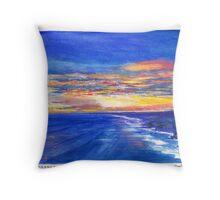 Cape Schanck Sunset Throw Pillow