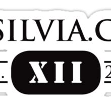 Property of S12Silvia.com Motorsports Dept. Sticker