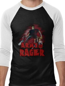 Army of Rager Logo Men's Baseball ¾ T-Shirt