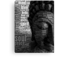 Buddha Words of Wisdom Canvas Print