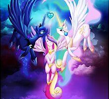 Ascension of a Princess by jewlecho