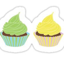 Four Cupcakes is Better Sticker