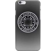United Federation of Britain iPhone Case/Skin