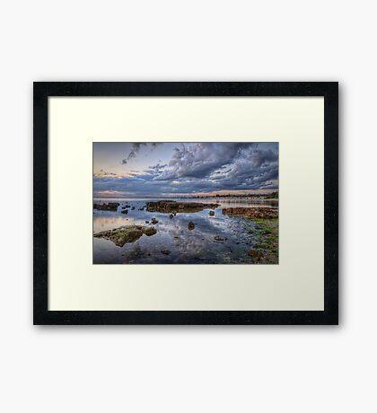 Brighton Beach View Framed Print