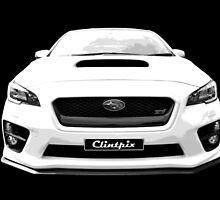 Subaru WRX 2015 by Clintpix