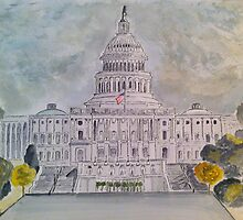 The Capitol Hill by Eva  Ason