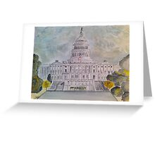 The Capitol Hill Greeting Card