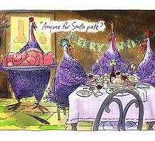 Santa pate` by johnboucher