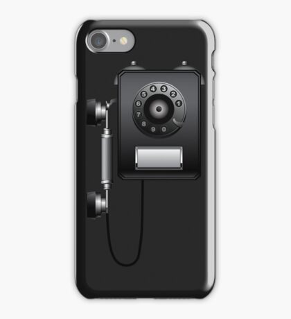 Retro Wall Rotary Dial Phone iPod / iPhone 5 Case / iPhone 4 Case  iPhone Case/Skin