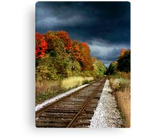 Ontario Autumn Canvas Print