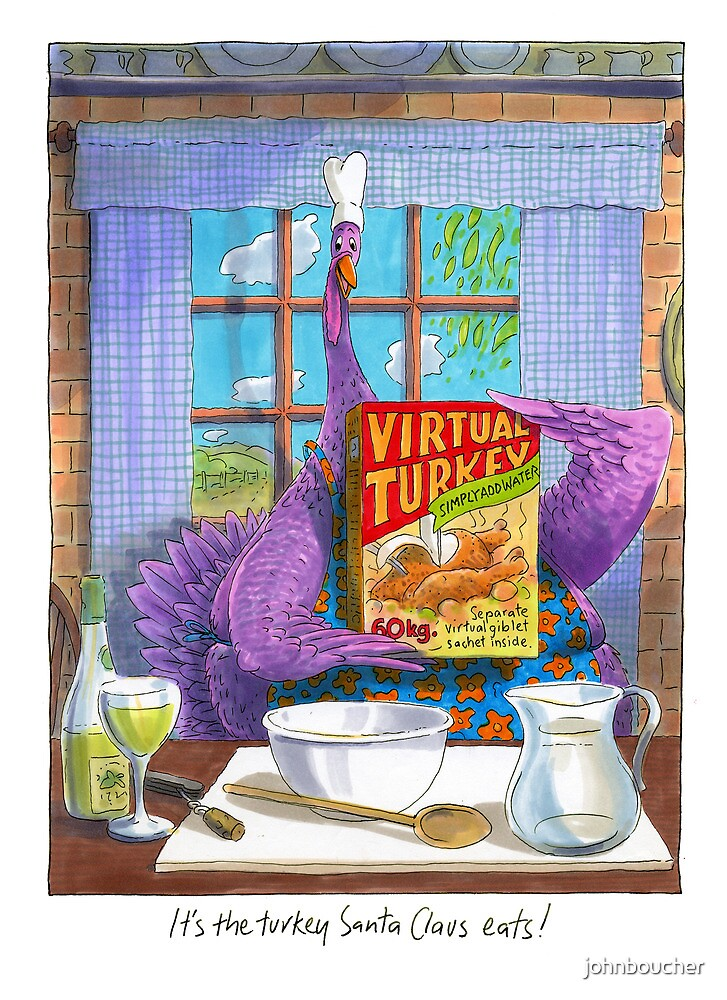 Virtual Turkey by johnboucher