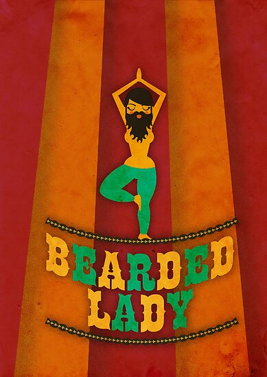 Bearded Lady by Marco Recuero
