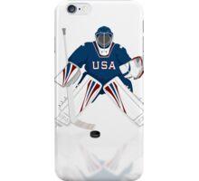 Hockey Goalie USA Team iPod / iPhone 5 Case / iPhone 4 Case / Samsung Galaxy Cases   iPhone Case/Skin