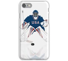 Hockey Goalie USA Team iPod / iPhone 5 Case / iPhone 4 Case / Samsung Galaxy Cases   iPhone Case/Skin
