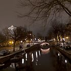 Amsterdam, Reguliersgracht by Pim Kops