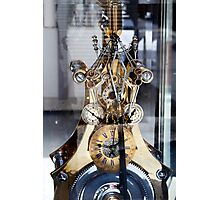 Steampunk Gearing Photographic Print