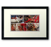 THE WEDDING RITUALS! Framed Print