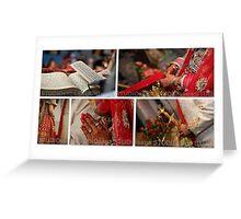 THE WEDDING RITUALS! Greeting Card
