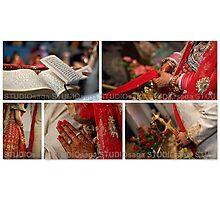 THE WEDDING RITUALS! Photographic Print