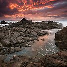 &quot;Inferno&quot;  Hastings Point, NSW - Australia by Jason Asher