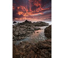 """Inferno"" ∞ Hastings Point, NSW - Australia Photographic Print"