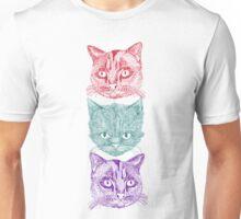 Three Cats Unisex T-Shirt
