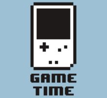 Game Time - 8-bit Style Kids Clothes
