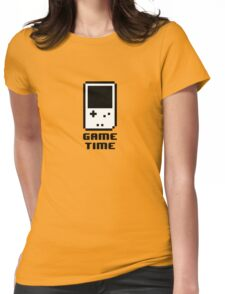 Game Time - 8-bit Style Womens Fitted T-Shirt