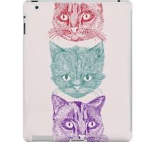 Three Cats iPad Case/Skin