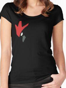 Scizor! Women's Fitted Scoop T-Shirt
