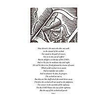 Psalm 1 Photographic Print