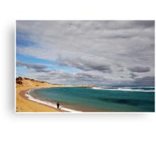Beachport Fishing Canvas Print