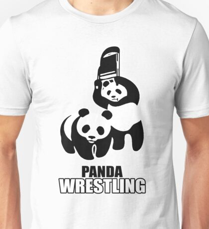 Panda Fight Unisex T-Shirt