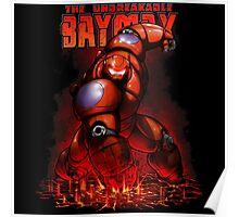 Protective Baymax Poster
