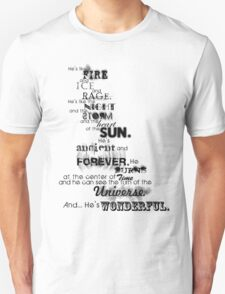 He's Wonderful! Unisex T-Shirt