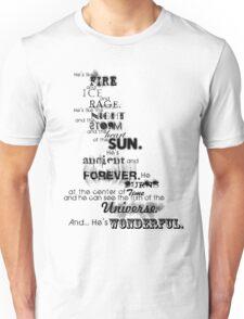 He's Wonderful! Unisex T-Shirt