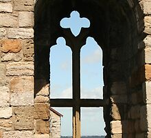 Window in Caernarfon Castle by AnnDixon