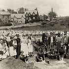Sheep dipping in Victorian Bratton, Wiltshire by Trowbridge  Museum